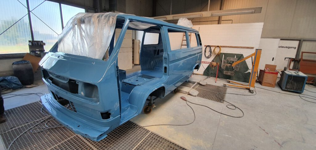 Lackierung VW T3