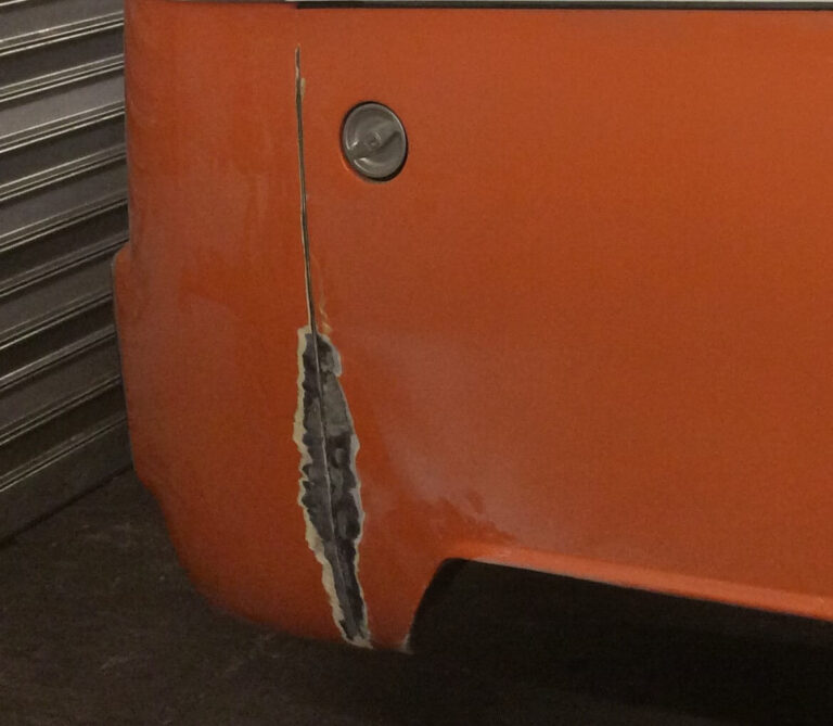 VW Bus Entlackung