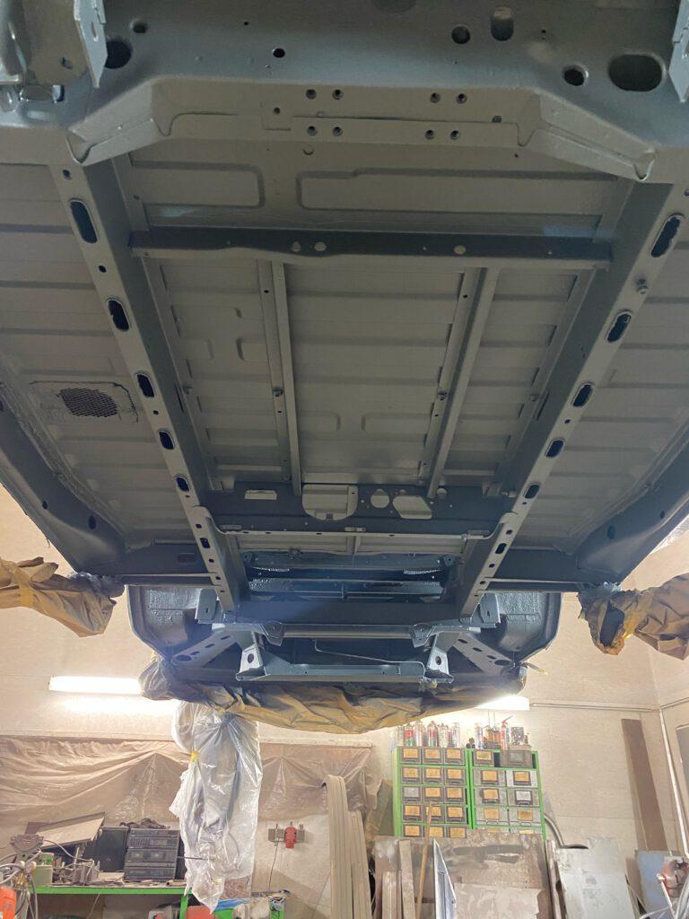 Unterboden VW T3