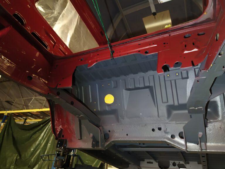 Motorraum VW T3