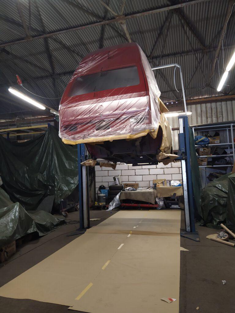 Beschichtung VW T3