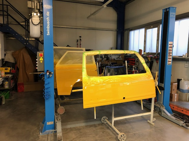 VW T3 Türen lackieren