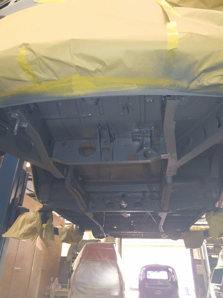 Unterboden VW T2