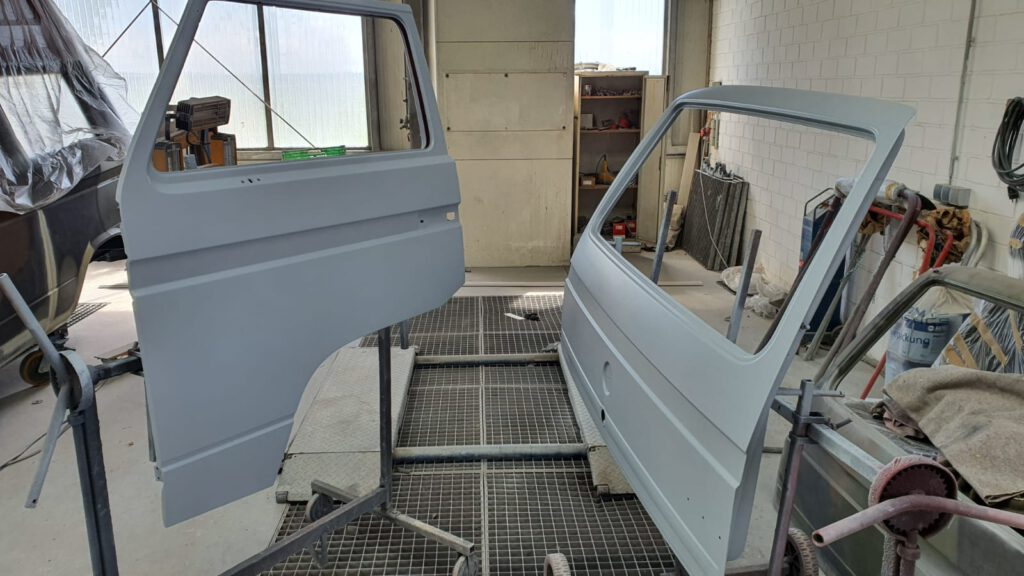 VW T3 Lackierung Türen