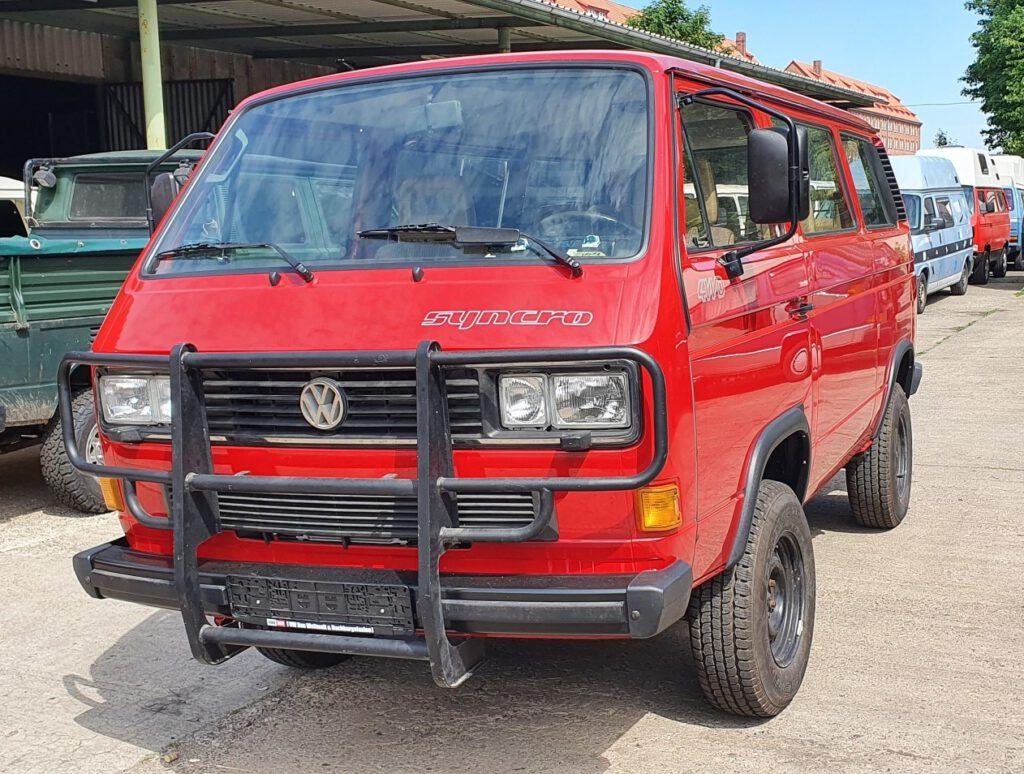 VW T3 Syncro Lackierung