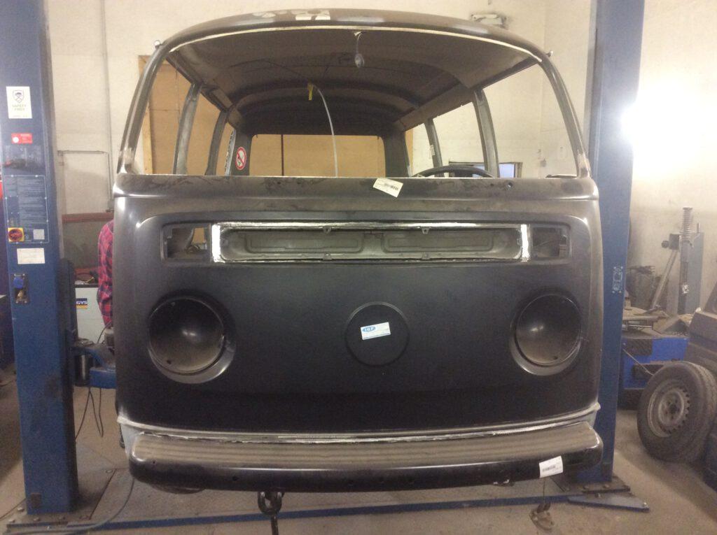 Lackierung VW T2