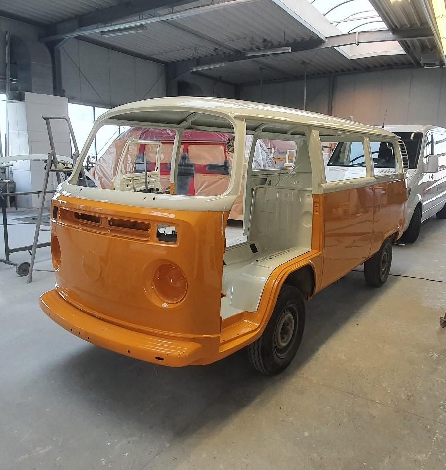 VW T2 Lackierung