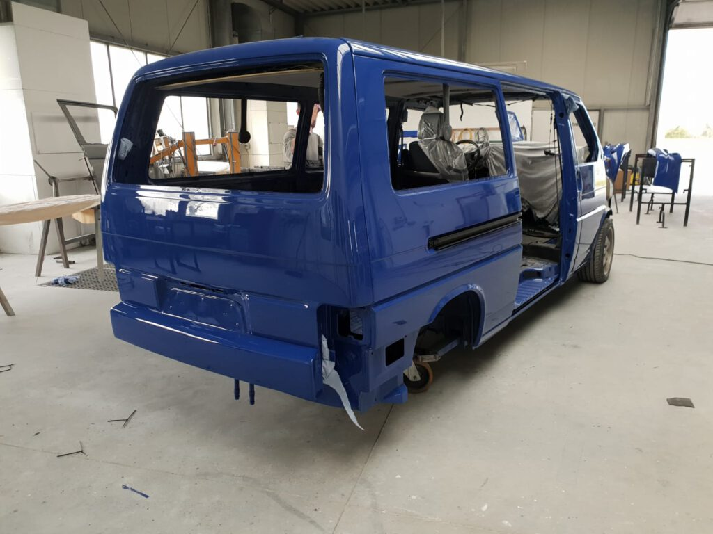 Lackierung VW T4