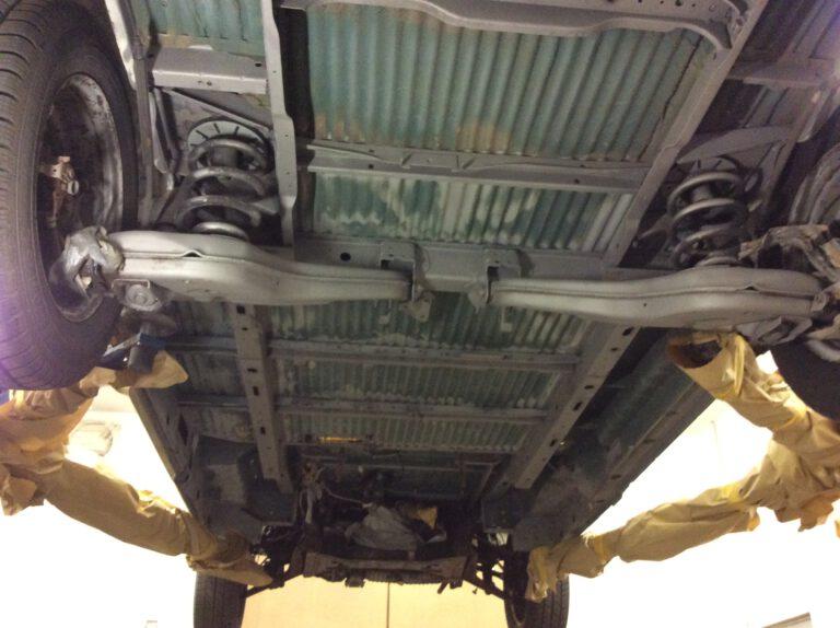 VW T4 Unterboden