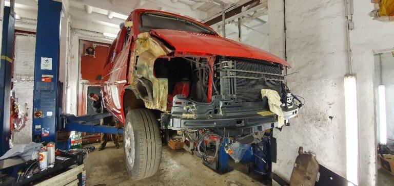 VW T4 Restaurierung