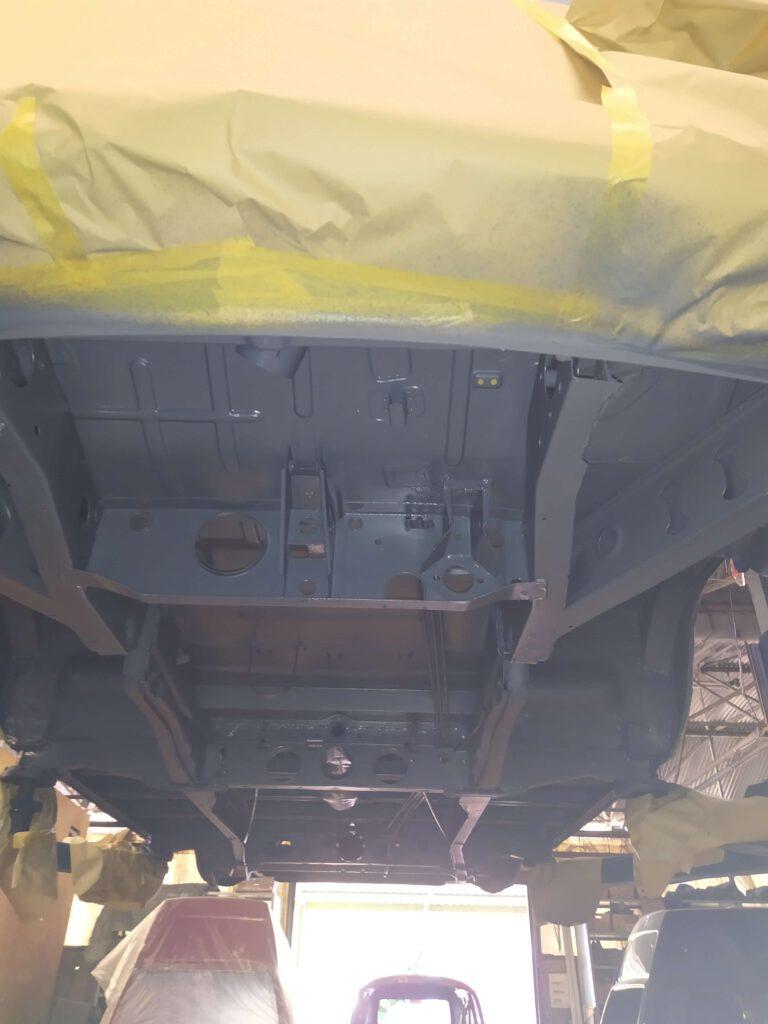 Unterboden VW