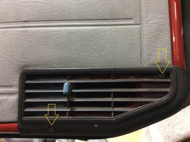VW T3 Demontage Tür